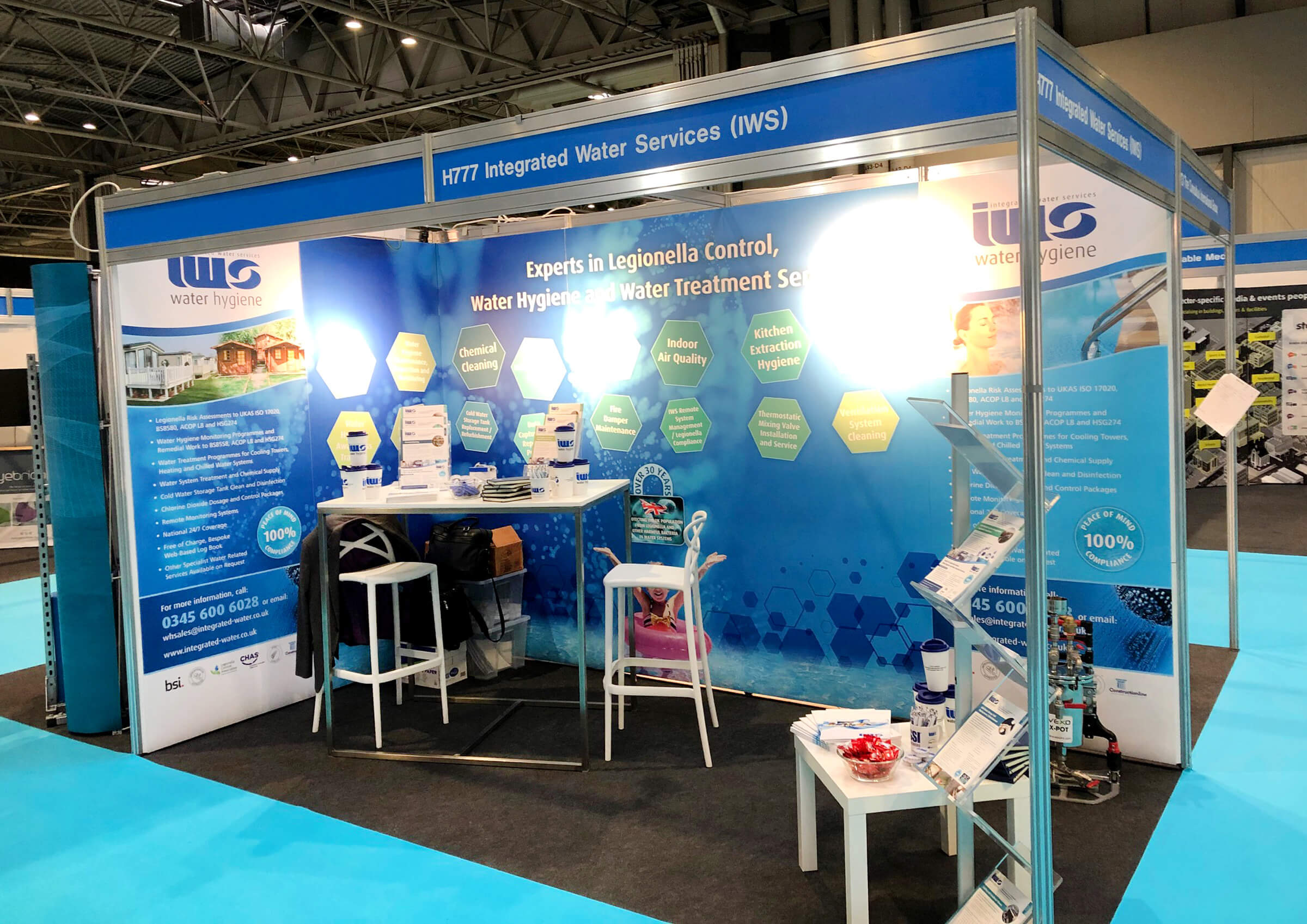 Integrated Water Services exhibition stand